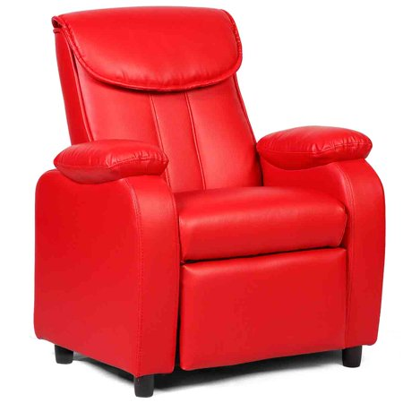 Costway Kid Recliner Sofa Armrest Chair Couch Children