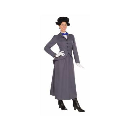 Womens English Nanny Halloween Costume (Halloween Costume Ideas For Large Ladies)