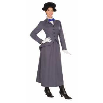 Womens English Nanny Halloween Costume - English Class Halloween