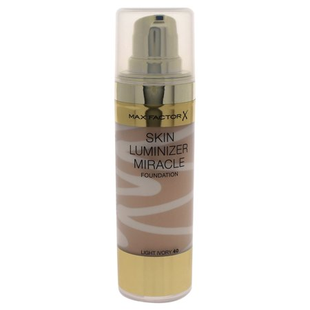 Skin Luminizer Miracle Foundation-#40 Light Ivory by Max Factor for Women - 30 ml
