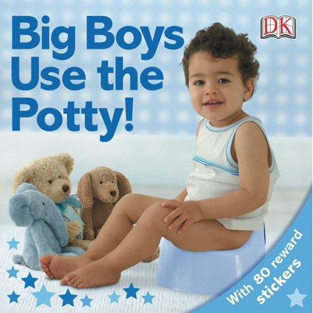 Big Boys Use the Potty (Board Book) (Get Faded Turn Up With The Big Boys)