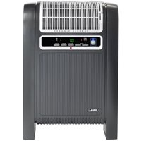 Lasko 1500W Ceramic Space Heater with Ionizer and Remote, 760000, Black