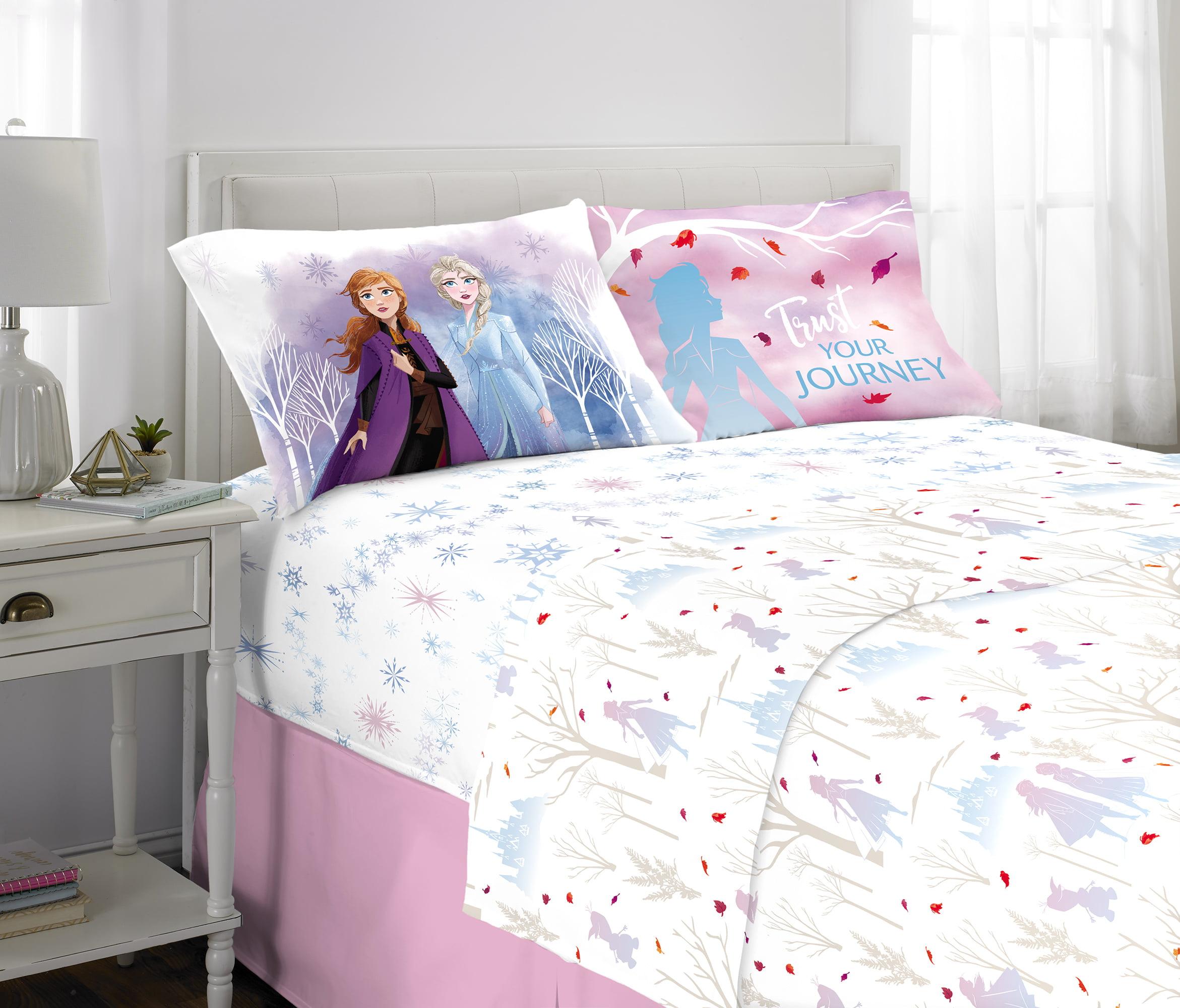 Frozen 2 Sheet Set, Kids Bedding, 4-Piece Full Size ...