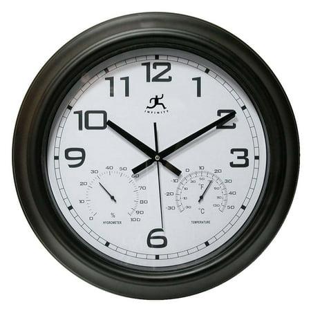 Infinity Instruments Seer 18 in. Outdoor Wall Clock
