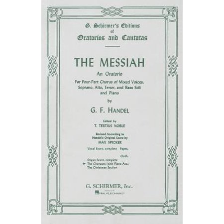 Chorus Parts - The Messiah : Chorus Parts - Piano