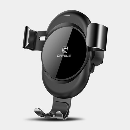 EEEKit Universal Gravity Car Phone Mount Easy One Hand 360° Rotation Air Vent Outlet Cradle Holder for  iPhone XS XS Max X, Samsung Galaxy S10 S10E S9 S9+ and More Cell