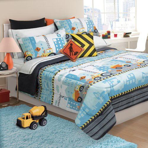 Zoomie Kids Margie Under Construction 3 Piece Comforter Set