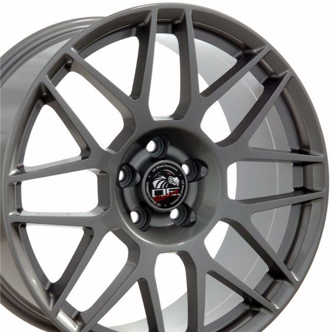 19 x 9 in. Wheel Replica, Gunmetal for Ford Mustang
