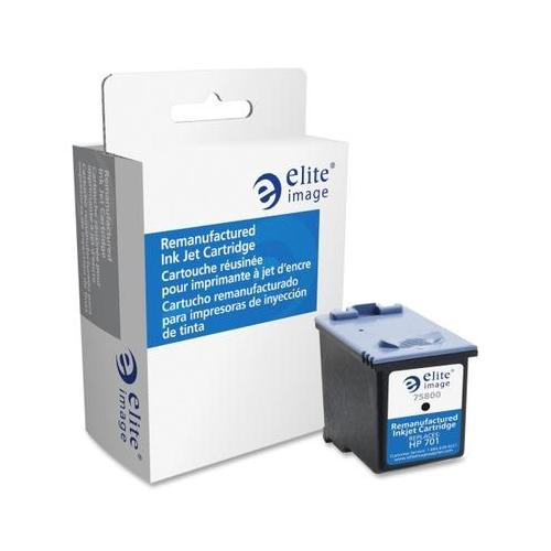Elite Image Remanufactured Ink Cartridge Alternative For HP 701 (CC635A) ELI7...