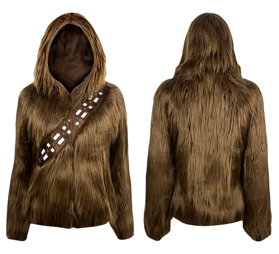 Star Wars Star Wars I Am Furry Chewbacca Junior S Brown Hoodie