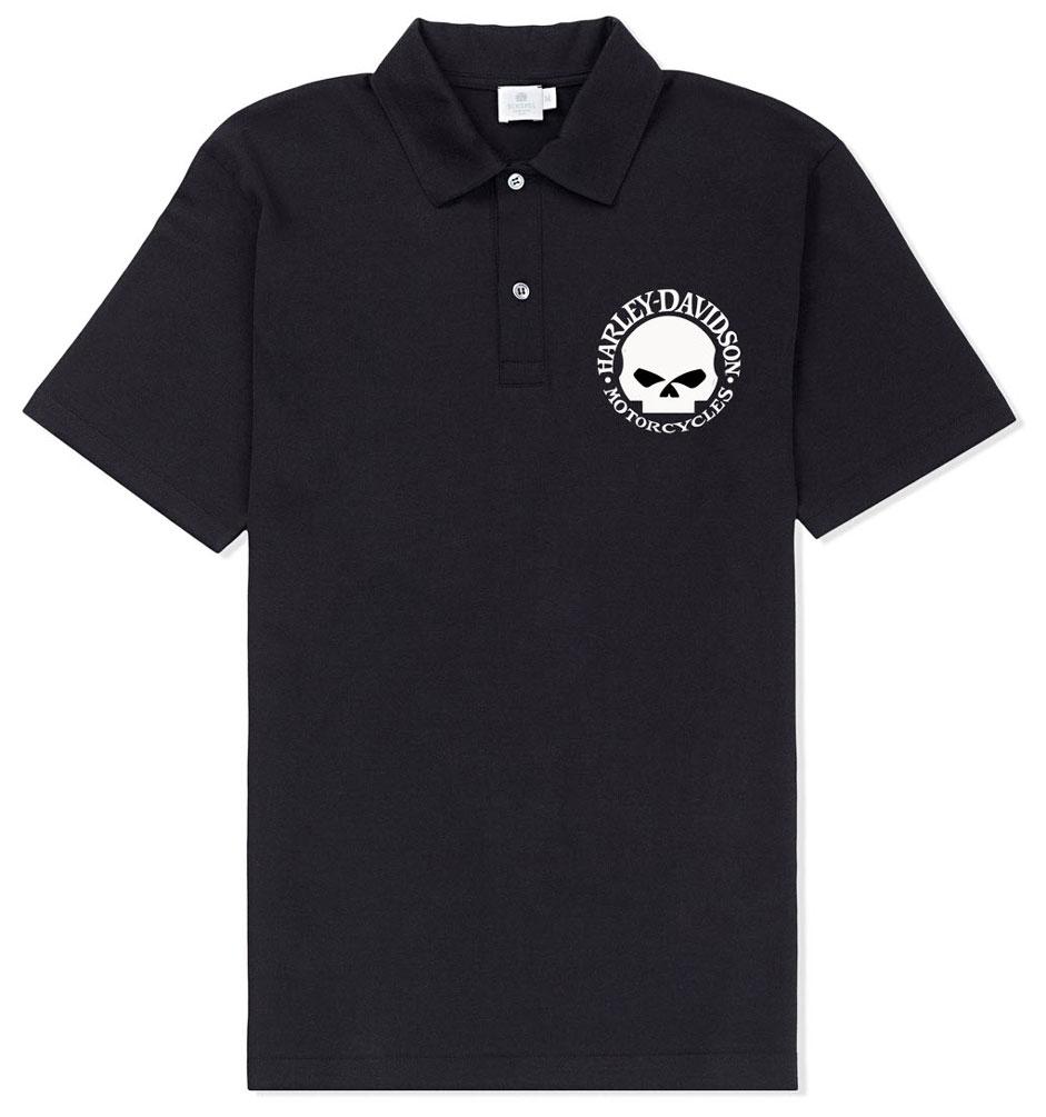 Bravado Harley-Davidson Men's Willie G Skull Logo Short S...