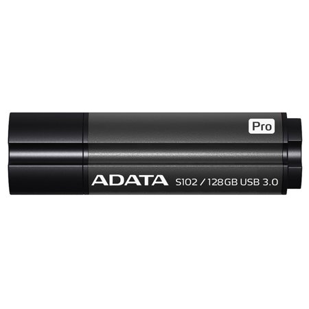 128GB AData DashDrive Elite S102 Pro USB3.0 Flash Drive (Titanium)