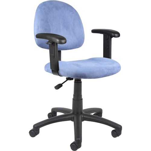 Boss Deluxe Desk Chair with Adjustable Arms