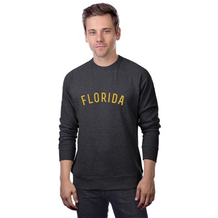 Daxton Florida Sweatshirt Athletic Fit Pullover Crewneck French Terry Fabric
