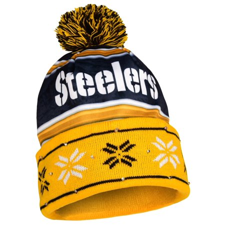 Pittsburgh Steelers Official NFL Team Beanie Stocking Stretch Knit Sock Hat  by Forever Collectibles 680321 - Walmart.com 3fff9317674