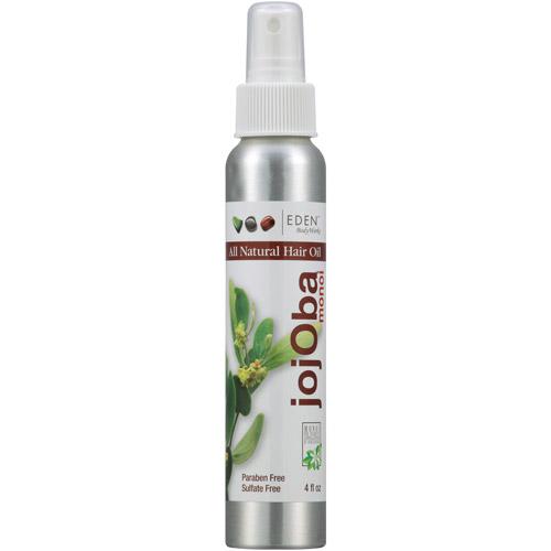 EDEN BodyWorks JojOba Monoi All Natural Hair Oil, 4 fl oz