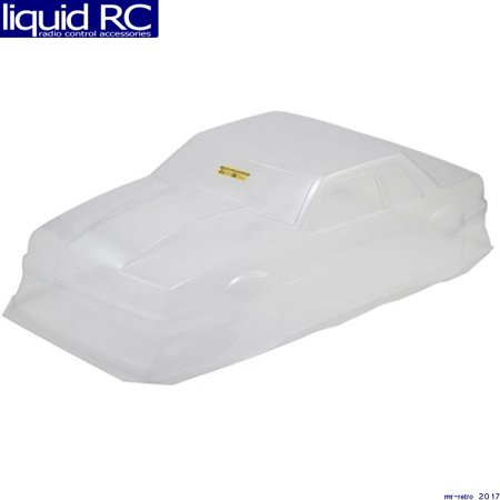 JConcepts 0362 1991 Ford Mustang Fox Clear Body 10.75 & 13 inch WB ()