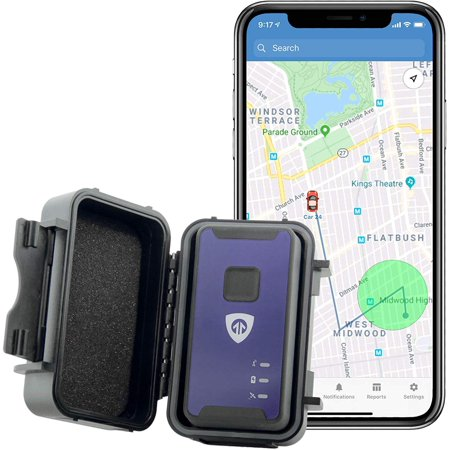 BrickHouse Security Spark Nano 7 with Magnetic Water Resistant Case for Car, Truck and Fleet Vehicle Real-Time LTE 4G GPS Tracking