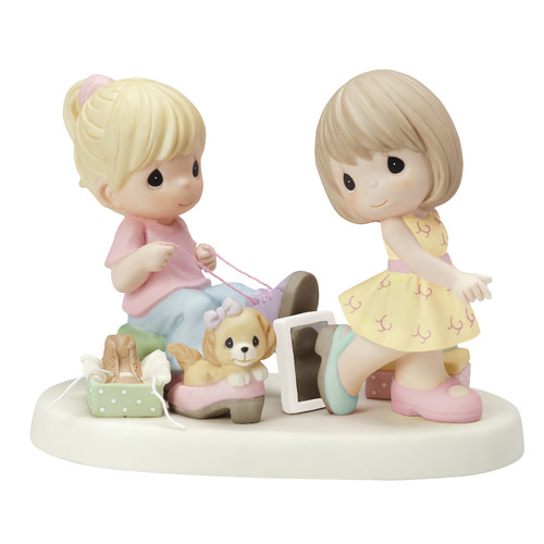 Precious Moments Sole Sisters Figurine