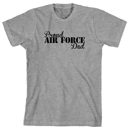 7dcb2296 Uncensored Shirts - Proud Air Force Dad Men's Shirt - ID: 2070 - Walmart.com