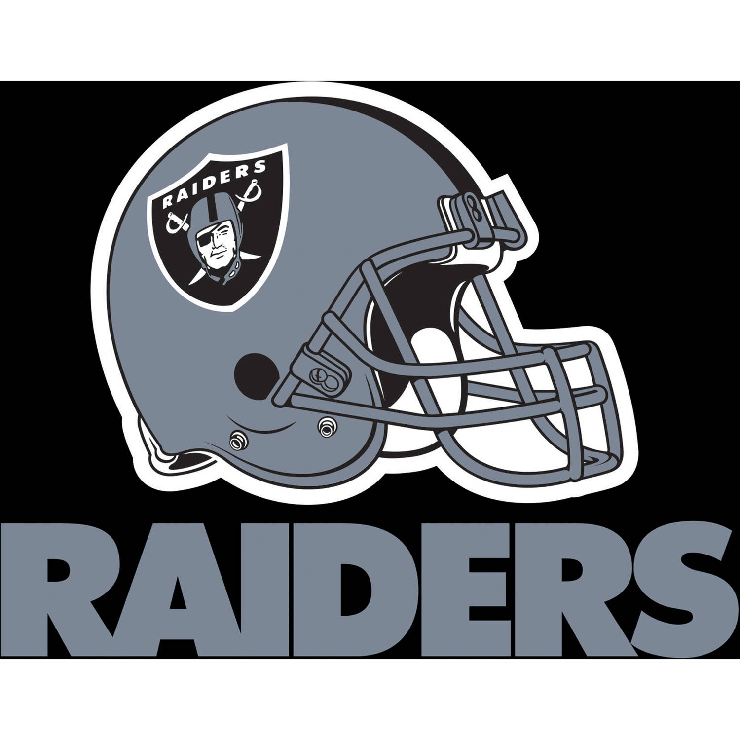Oakland Raiders Napkins, 16-Pack
