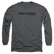Saturday Night Live SNL Cowbell Mens Long Sleeve Shirt
