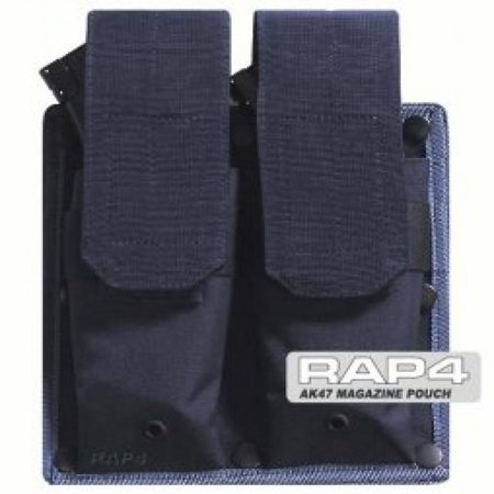 AK47 Magazine Pouch for Tactical Vest (Navy Blue) - paintball apparel