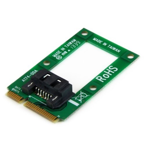 StarTech mSATA to SATA HDD/SSD Adapter Mini SATA to SATA Converter Card