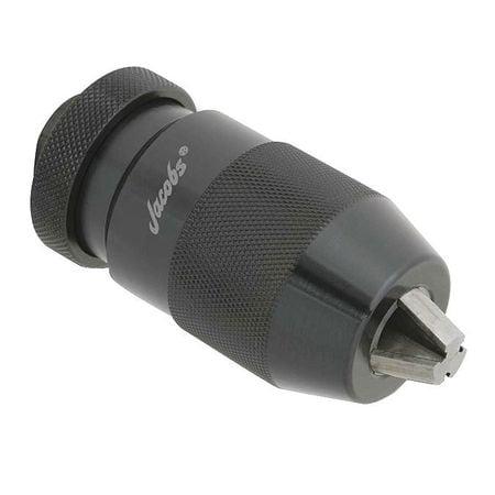 JACOBS Drill Chuck,Keyless,Steel,0.512 In,33JT 33364