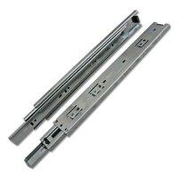 "550mm [21.65""] Full Extension Bright Zinc Drawer Slides, 100 Lb. Capacity"