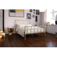DHP Stella Metal Platform Bed, Multiple Colors, Multiple Sizes