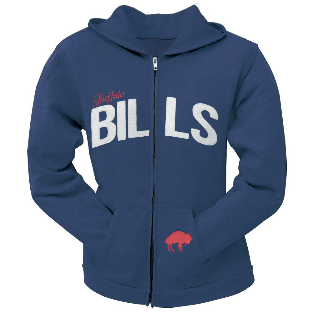 Buffalo Bills - Pep Rally Premium Juniors Full Zip Hoodie