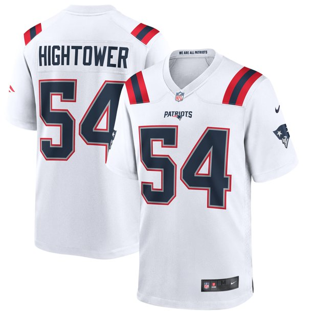 Dont'a Hightower New England Patriots Nike Game Jersey - White