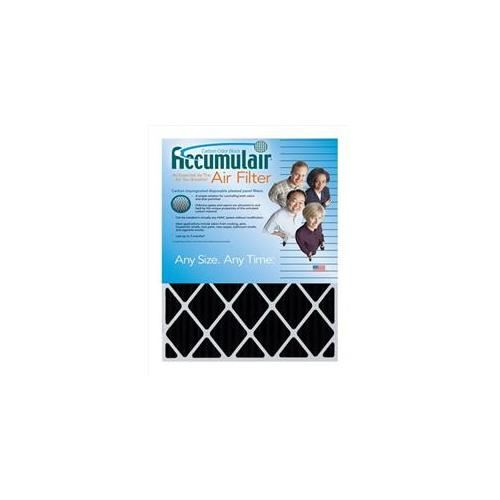 Accumulair FO14X27X1A Carbon Odor Block 1 inch Filter,  Pack Of 4