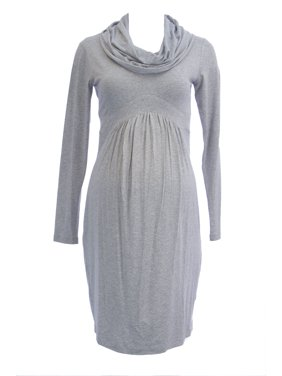 973d6f4dfa00a Product Image OLIAN Maternity Women's Cowl Neck Long Sleeve Dress