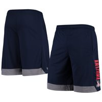 Men's Russell Athletic Navy Arizona Wildcats Athletic Fit Colorblocked Training Shorts