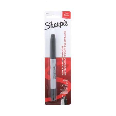 Rossignol Twin Tip - Sharpie® Twin Tip Permanent Marker, Black