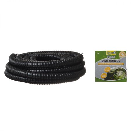 - Tetra Pond Pond Tubing - Black 20' Long x 3/4 Diameter - Pack of 6