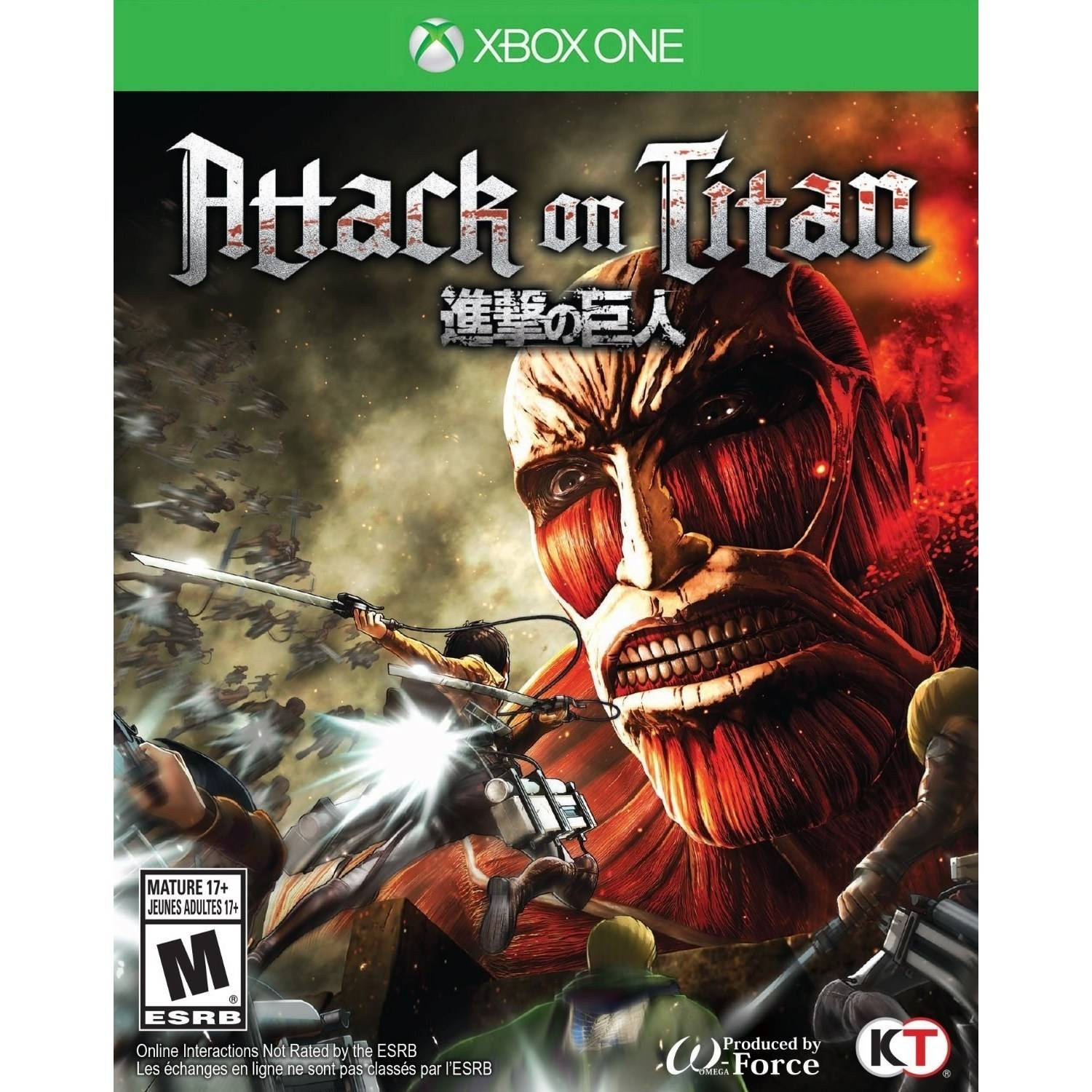 Attack on Titan (Xbox One) TECMO KOEI, 40198002813 by Tecmo Koei