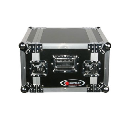 Odyssey Cases FZER6 New Deluxe Ata 6 Space DJ Effects Gear 6U Flight Rack Case American Dj Dj Equipment Case