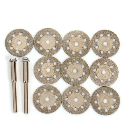 Metal Cutting Grinding Wheel (10pcs Cutting disc Tool Diamond Grinding Wheel Abrasives  Tool Rotary Tool Circular Saw Blades)