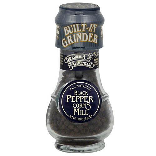 Drogheria & Alimentari Organic Black Peppercorns, 1.58 oz, (Pack of 6) by Generic