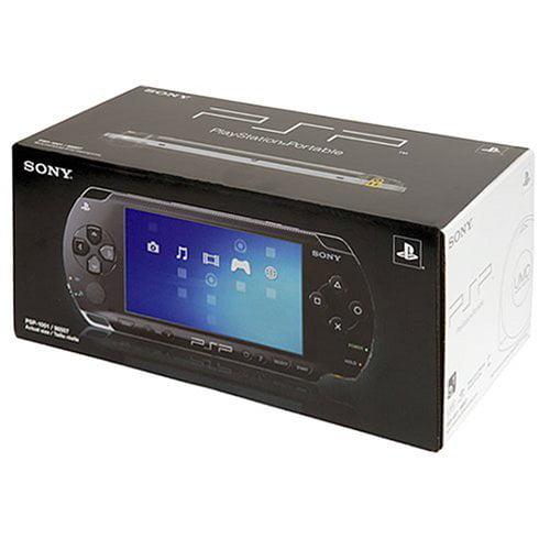 Refurbished Sony PlayStation Portable Core PSP 1000 Black Handheld PSP-1001