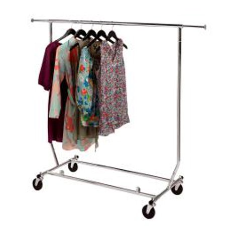 Clothing Rack - Rolling, Collapsible