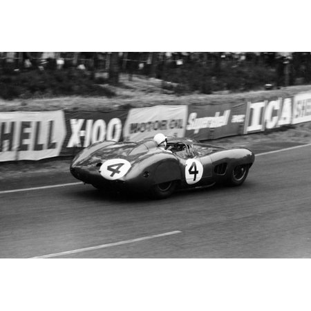 Stirling Moss in an Aston Martin Dbr1, Le Mans 24 Hours, France, 1959 Print Wall Art By Maxwell