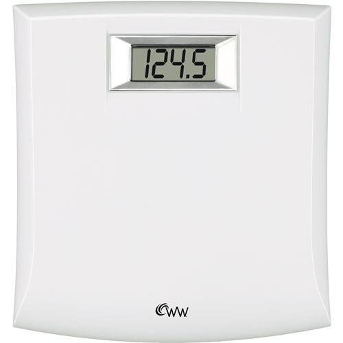 weight watchers white digital bath scale - walmart
