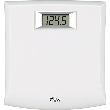 weight watchers white digital bath scale