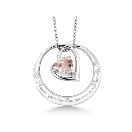 925 Sterling Silver Love Pendant (925 Sterling Silver