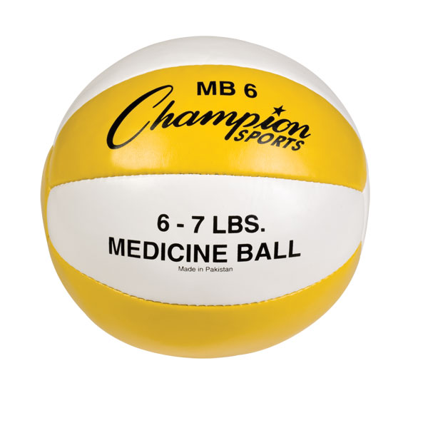 6-7lb Leather Medicine Ball