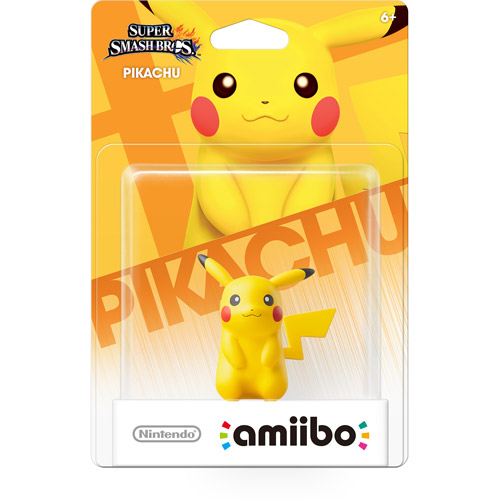 Nintendo Super Smash Bros Amiibo Pikachu Mini Figure
